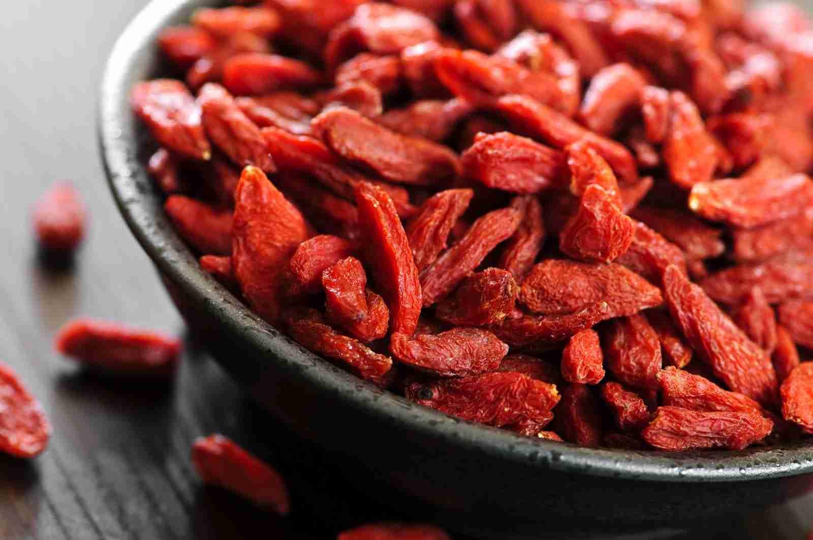 nutrientes da goji berry