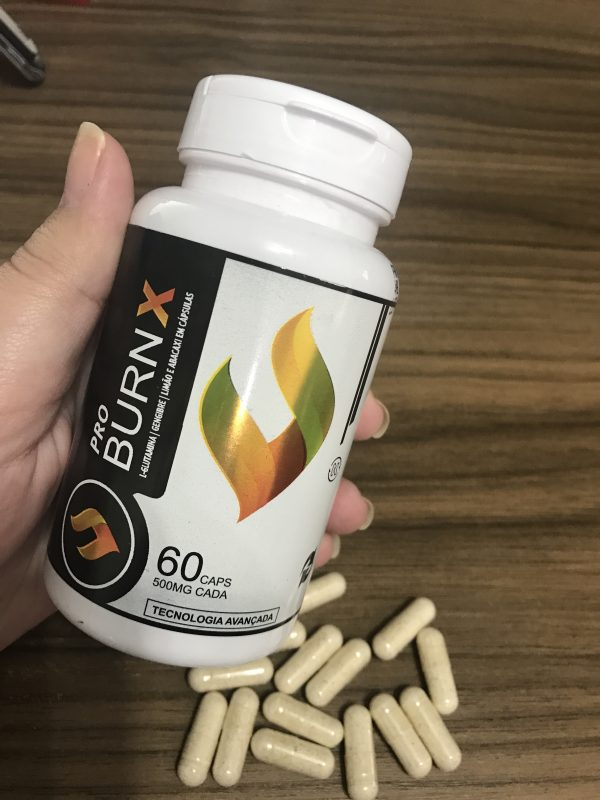 embalagem do suplementos para emagrecer Pro Burn X