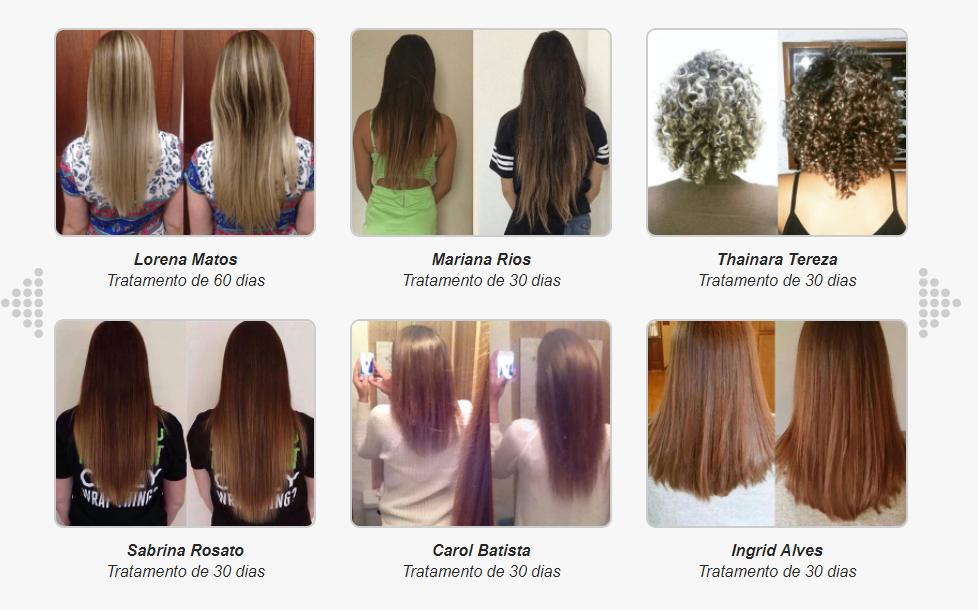 luminus hair depoimentos