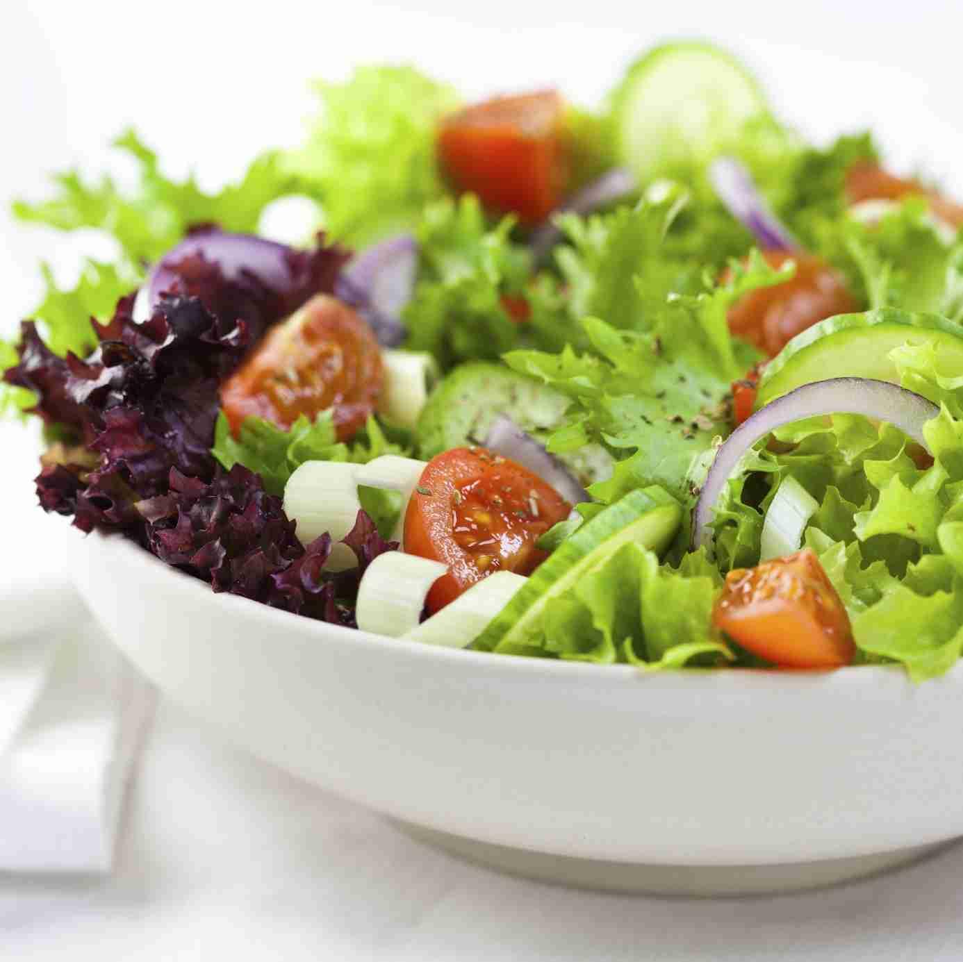 dieta detox salada
