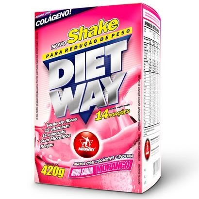 embalagem do suplementos para emagrecer Shake Diet Way