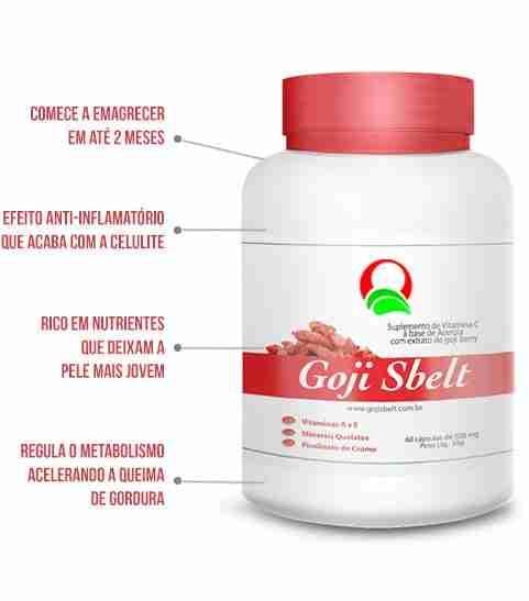 Goji Sbelt: Você mais bonita! Mais saudável! Mais magra!
