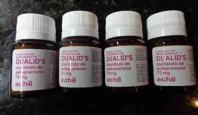 Anfepramona embalagens de dualid