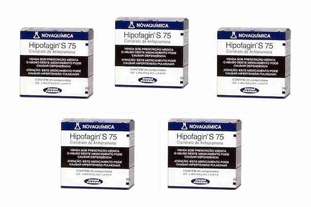 Anfepramona embalagem de Hipofagin