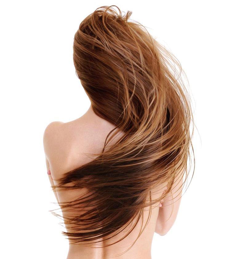 cronograma capilar mulher de cabelo liso