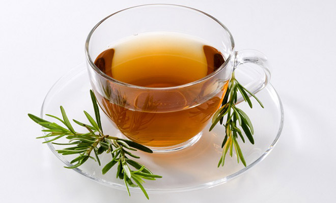 chá de alecrim para gripo