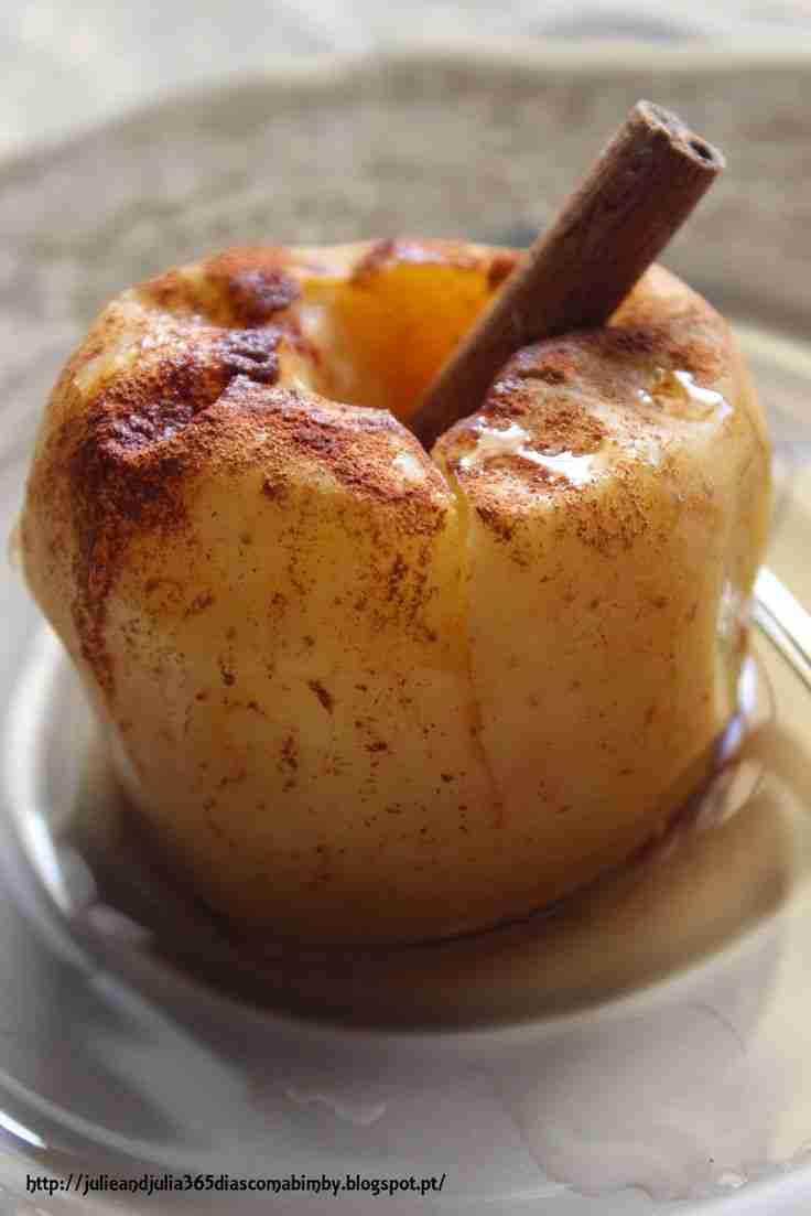 Escondidinho maçã com canela