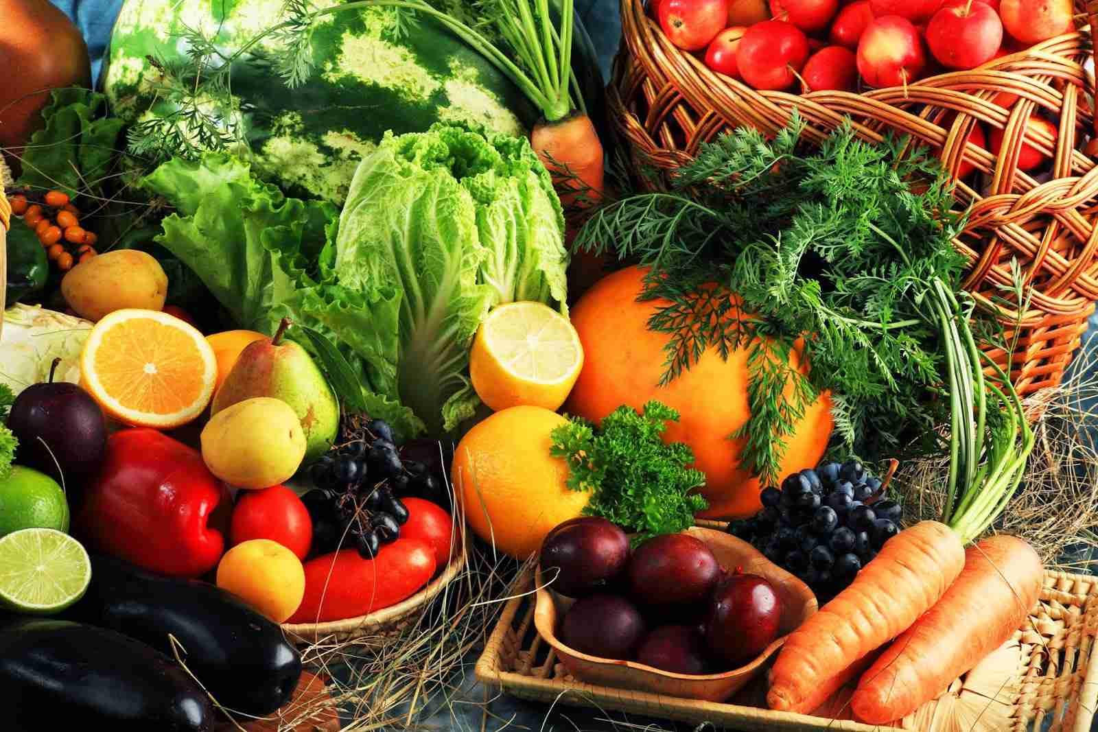 quero emagrecer frutas e verduras