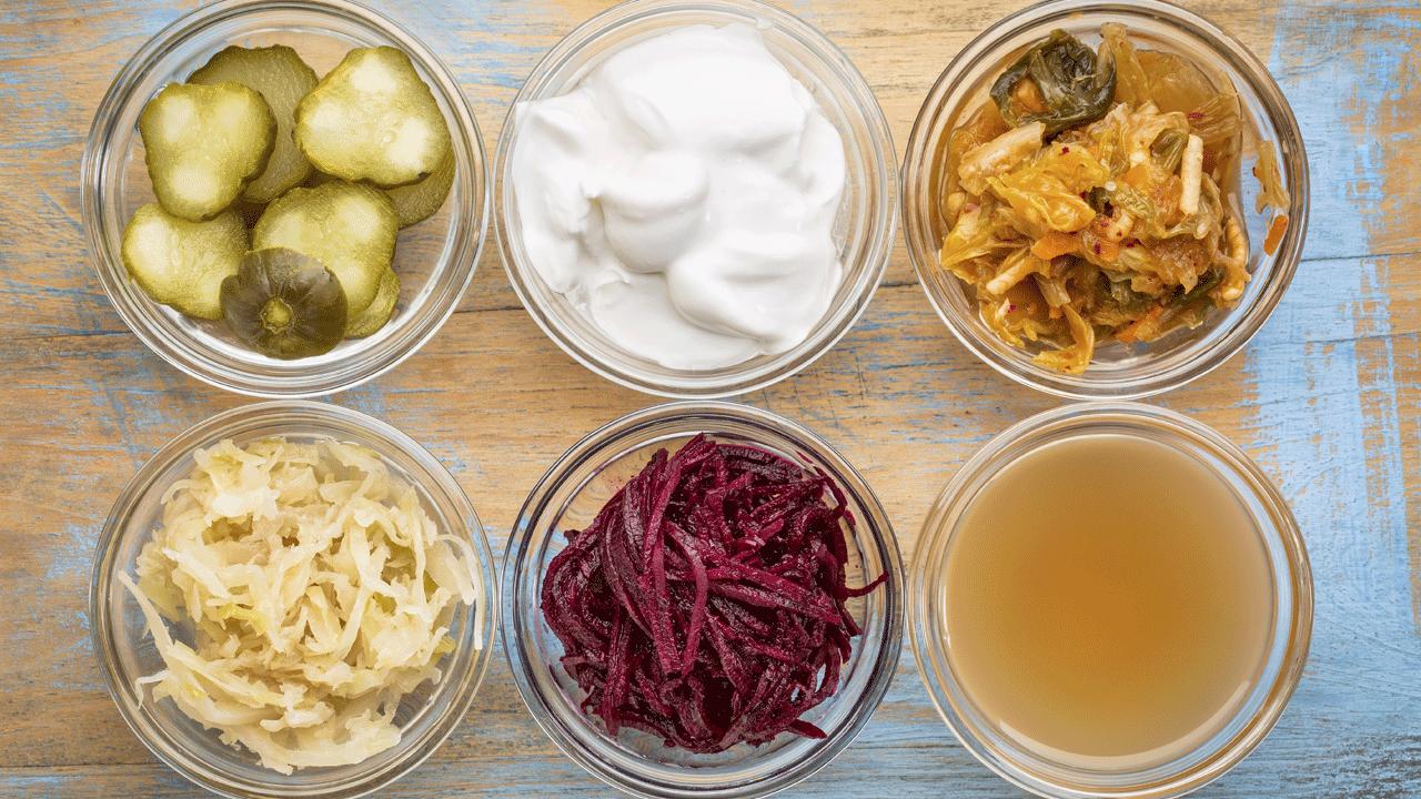 Alimentos que contém probióticos