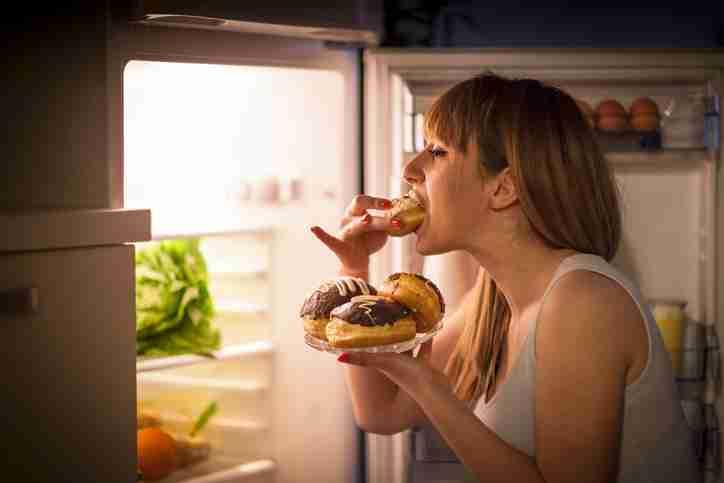 assaltar geladeira