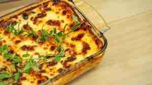 Lasanha de berinjela: Receitas gostosas e práticas para você se deliciar!