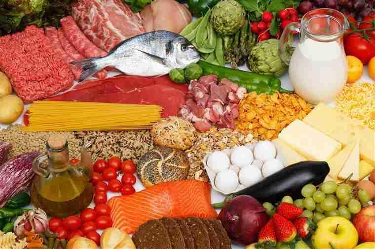 grupos alimentares